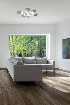 Creo LED-Deckenleuchte 55 x Alu-matt 47324 Luminaire Led, Modern, Design, Products, Contemporary, Ceiling Lights, Sculpture, Trendy Tree