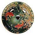 Fontaine Koi and Lily Pond Glass Vessel Bathroom Sink. I LOVE this vessel! There are a few other ones I will pin.