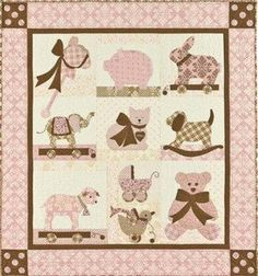 Sweet Dreams Lily Baby Quilt Pattern Bunny Hill Design. $24.00, via Etsy.