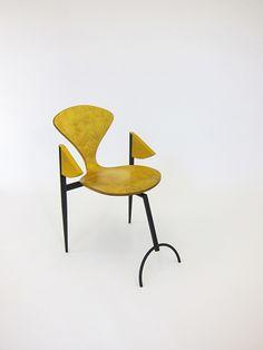 martino gamper Yellowed Chair
