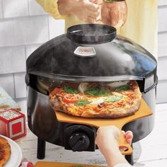 Pizzeria Pronto Outdoor Pizza Oven, available at Cool Kitchen Gadgets, Small Kitchen Appliances, Kitchen Items, Home Decor Kitchen, Cool Kitchens, Outdoor Kitchens, Outdoor Rooms, Kitchen Tools, Outdoor Living