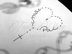 Ideas For Love Art Tattoo Tatuajes Trendy Tattoos, Love Tattoos, Body Art Tattoos, New Tattoos, Small Tattoos, Girl Tattoos, Tattoos For Women, Tatoos, Tattoo Pai E Mae