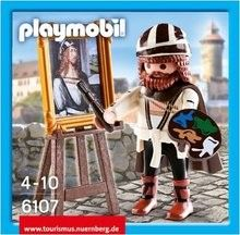 A little Playmobil Dürer!! Isn't he cute?
