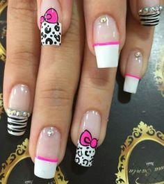 Nails Love Nails, Pretty Nails, My Nails, French Nails, Fingernails Painted, Toe Nail Designs, Classy Nails, Perfect Nails, Beauty Nails