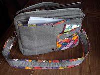 Carolalla: Laptoptas? patroon quilt en zo ?