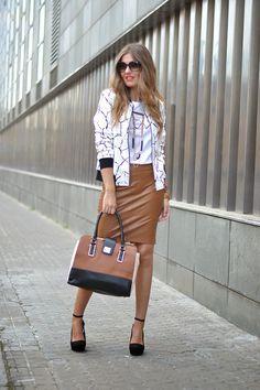 BOMBER CROMO | Mi aventura con la moda
