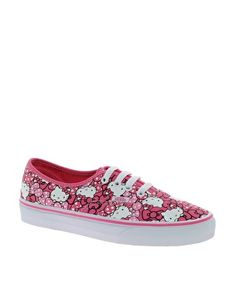 Image 1 of Vans Hello Kitty Authentic Print Trainers