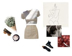 """""""Untitled #340"""" by peachcobain ❤ liked on Polyvore featuring TIBI and Ray-Ban"""