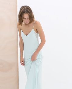 ZARA - NEW THIS WEEK - LONG COMBINED DRESS