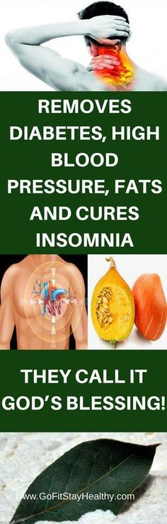 REMOVES DIABETES, HIGH BLOOD PRESSURE, FATS AND CURES INSOMNIA: THEY CALL IT GOD'S BLESSING!