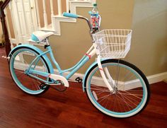 My wife's Schwinn Legacy Cruiser I just bought her for Mothers Day