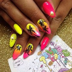 #nails #nailart #naildesigns - credits to the artist