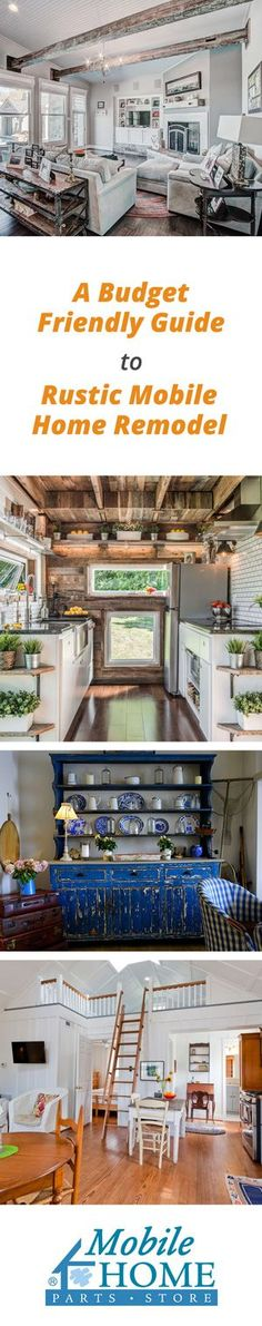 Packed full of how-to's and tutorial videos to achieve the perfect Farmhouse look for your mobile home!