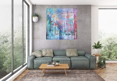 Fragments of joy – XL colorful abstract painting Large Artwork, Extra Large Wall Art, Large Painting, Knife Painting, Contemporary Wall Art, Modern Wall Decor, Grand Art Mural, Art Texture, Oversized Wall Art