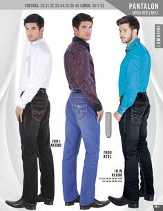2800 Pantalon de Caballero Lamasini RED LABEL