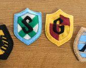 Harry Potter House Crest Felt Ornament