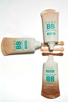 Maybelline Dream Pure BB:  BB Cream for Breakouts... need to try these out esp around that time of the month !