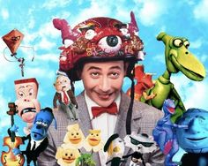 80's hbo kids shows | memories of the '80s – Pee Wee's Playhouse – W POPAGANDA