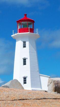 Leuchtturm Peggy's Cove, Nova Scotia, Kanada (Foto von SK-Kundin I. Volt) #lighthouse, #lighthouseroute, #peggy'scove, #halifax, #novascotia, #canada