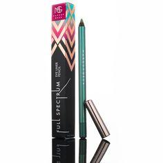 Makeup Geek Full Spectrum Eye Liner Pencil in the shade Ocean. Makeup Geek Cosmetics, Girly Things, Girly Stuff, Cruelty Free Makeup, Pencil Eyeliner, Spectrum, Hair Makeup, Geek Stuff, Eye Liner