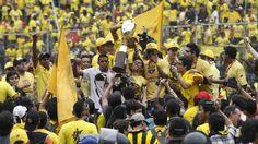 En 2012 fue el último año que equipo amarillo quedó campeón. (Archivo)