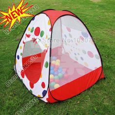 New Arrive--Baby Infant Kid Child Toddler Outdoor Indoor Pop up Play Tent Playhouse & Ball Pit Play Tent for Kids - 6-sided Playhouse for Children ...