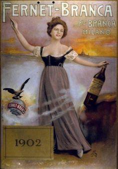 FERNET BRANCA POSTER 1902