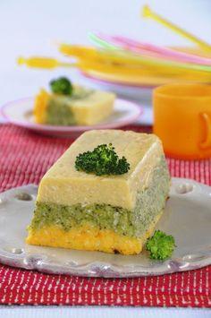 Zapiekanka ziemniaczana z brokułami
