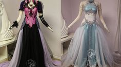 Firefly Path is no stranger to fantasy and video games. The talented lady behind the company, JoEllen Elam, started out doing elaborate cosplays featured o Reign Dresses, Prom Dresses, Pretty Outfits, Pretty Dresses, Pretty Clothes, Zelda Dress, Disney Princess Outfits, Fantasy Gowns, Japanese Outfits