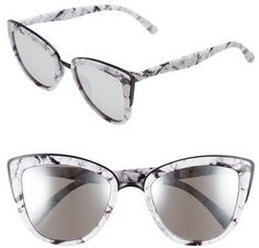 3d92483330b7c Quay Australia  My Girl  50mm Cat Eye Sunglasses