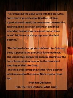 #Gosho 107: The Third Doctrine, WND-1 854