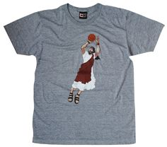 58386509 Shop Jumpshot Jesus Tshirt | Beautiful Demise Jesus Funny, Jesus Loves Me,  Basketball Shirts