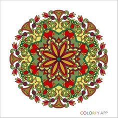 Amazing, @debwho55 !  #colorfy #colorfyapp #getinspired #cute #beautiful #colorful #coloring #therapy #joy #Mandala #mandala #mandalas #Colorfy #drawing #picture #painting #coloring #books #book #app #zen #meditation