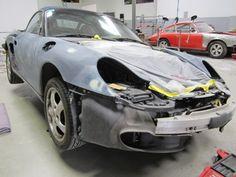 2000 Porsche Boxster before paint