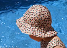 kuka  bubu: Reversible Sun hat (from free pattern)