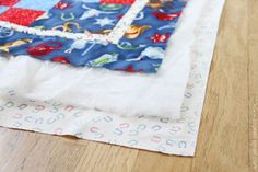 Downy Touch of Comfort - Quilts for Kids, PART 2 (quilting and binding....the easy way) | Make It and Love It