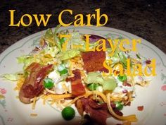 Bowulf's 7 Layer Salad- one of my favorite go-to lunches!!