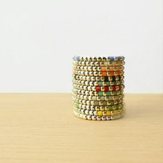 Native / 5 Silver 925 Rings - Many colors from N a t a s h a  R. Sterling Silver J e w e l r y by DaWanda.com