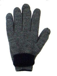 Beidseitig tragbare dunkelgrau, schwarze #Handschuhe aus #Alpakawolle. Diese Handschuhe können beidseitig getragen werden. Hochwertige Verarbeitung und einer der besten Wollsorten der Welt geben Ihnen ein wunderbares Tragegefühl.