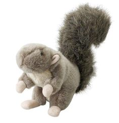 Ethical Pet Woodland Series 9.5-Inch Squirrel Plush Dog Toy Large