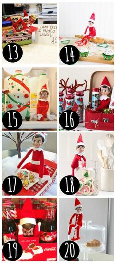 Elf on the Shelf ideas for everyone.