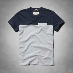Indian Pass Colorblock Pocket Tee $20