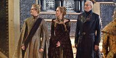 Joffrey, Cersei, and Twyin Lannister