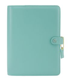 Webster's Pages Color Crush A5 Faux Leather Planner Kit-Light Tealnull