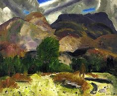 1920 Hunter and Mountains - George Bellows