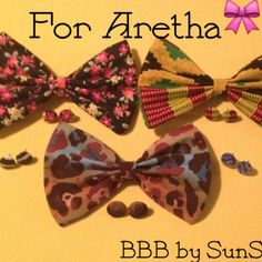 $31  Aretha's order is ready! Thanks so much for your purchase! http://buttonsbowsbeyond.bigcartel.com