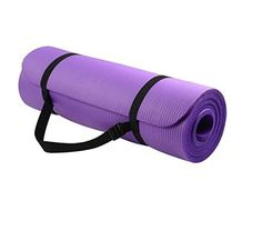 buy now   									£12.90 									  									Overview: With double sided non-slip surfaces, BalanceFrom All-Purpose Premium exercise yoga mat comes with an excellent slip resistant advantage to prevent injuries. Exceptional resilience allow you to  ...Read More