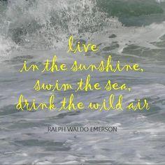 emerson beach quote