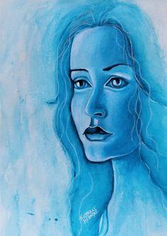 watercolor #kimberlymccormick #artbykimberly #christianartist #watercolor #portraitartist #womenartist #etsyshopowner #etsyartist #houstonartist #texasartist #propheticart