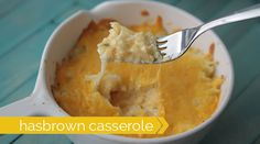this is the best cheesy hash brown casserole ever! the dry ranch seasoning mix makes it taste amazing!